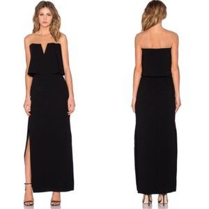 Bailey 44 Dreams Mesh Maxi Dress in Black